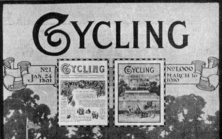 Cycling magazine March 16 1910
