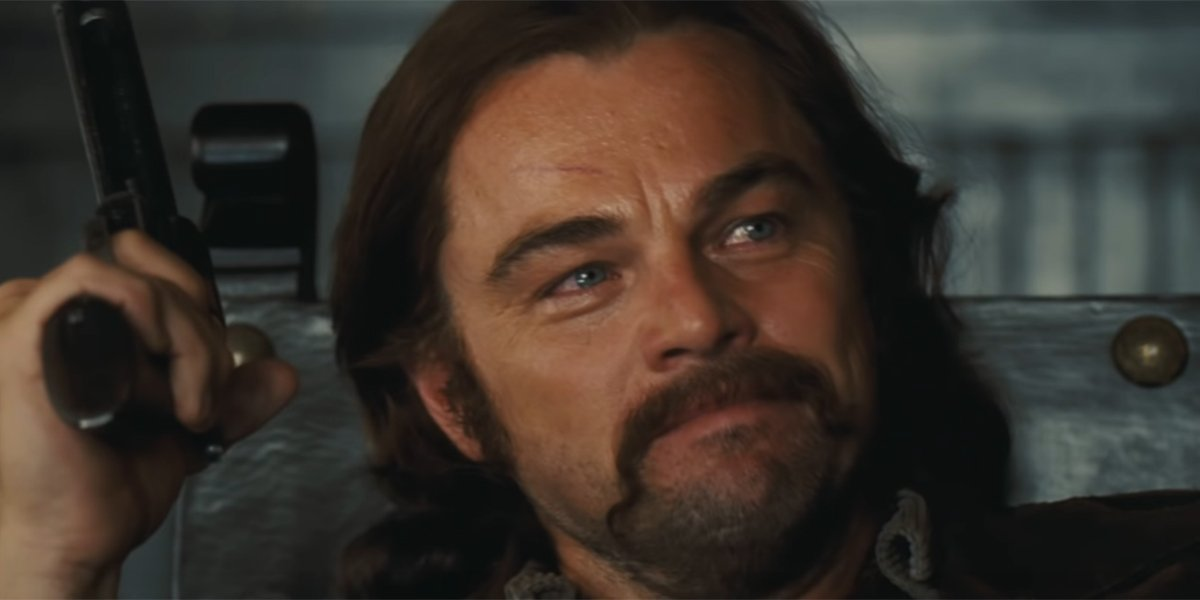 Rick Dalton swelling with pride in Once Upon a Time in Hollywood