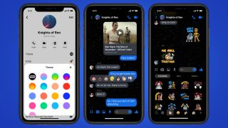 Facebook Messenger Has A New Star Wars Themed Dark Mode