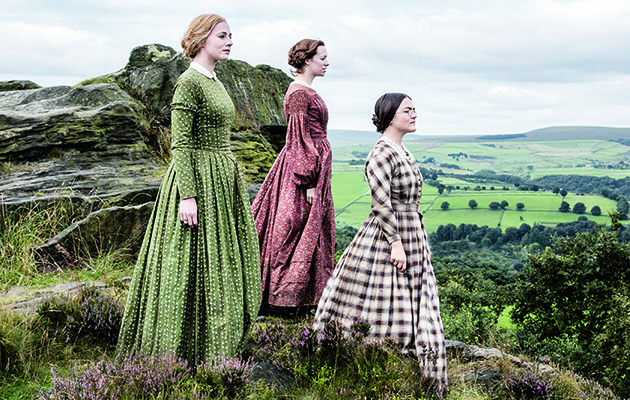 Even if you've never read Jane Eyre or Wuthering Heights, you'll still be fascinated by this look at the lives of Brontë sisters starring, Finn Atkins, Chloe Pirrie and Charlie Murphy