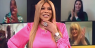 Wendy Williams Seeing Her Super-Realistic Wax Figure For The First Time Is A Nightmare Mood