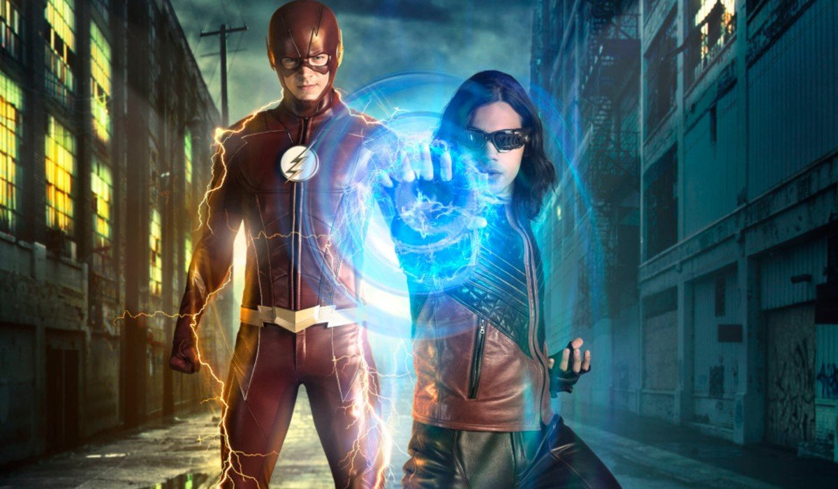 Flash and Vibe The Flash The CW