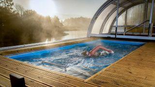 Are swim spas heated?