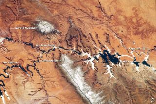 Colorado River from space