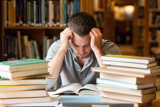 Researcher with books, prestige, research