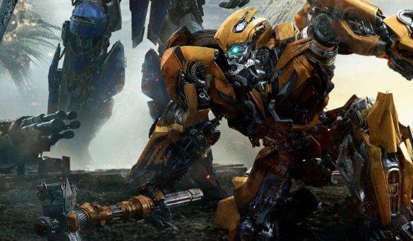Bumblebee Transformers kneeling