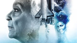 """Nichelle Nichols in the poster for """"Woman in Motion"""" on Paramount Plus."""
