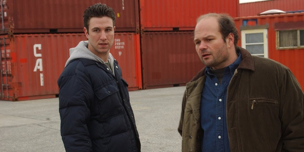From left to right: Pablo Schreiber and Chris Bauer