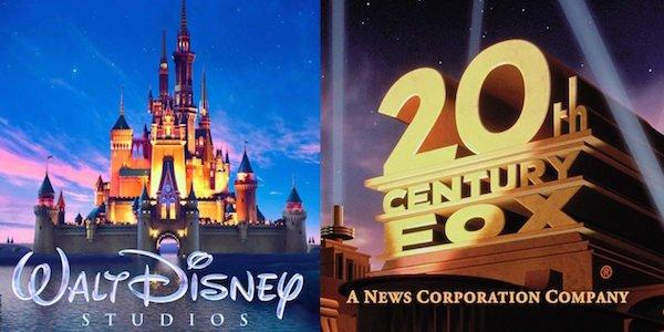 Disney and Fox's logos