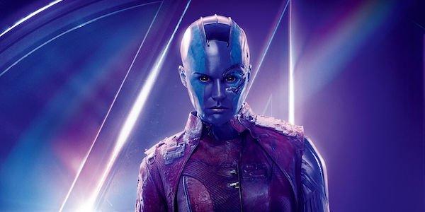 Nebula Avengers: Infinity War poster