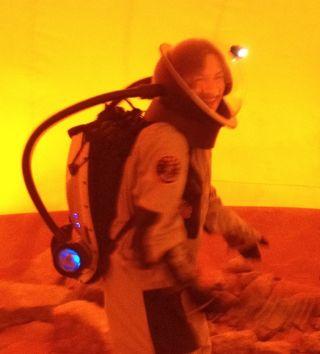 Mars 160 Crewmember Annalea Beattie