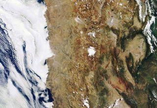 Atacama Desert satellite image