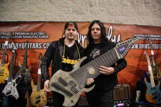 Youtube Djent Sensation Jared Dines Selling Custom 18 String Guitar On Ebay Musicradar