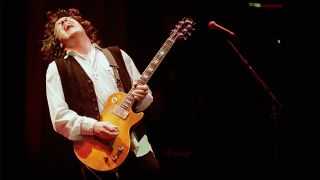 Gary Moore with Greeny