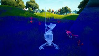 Fortnite scanners in the Alien Biome locations