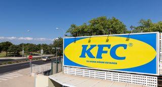 Print adverts: KFC Ikea billboard