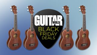 The beginner-friendly Mitchell MU40 soprano ukulele is a steal at only $29.99 this Black Friday