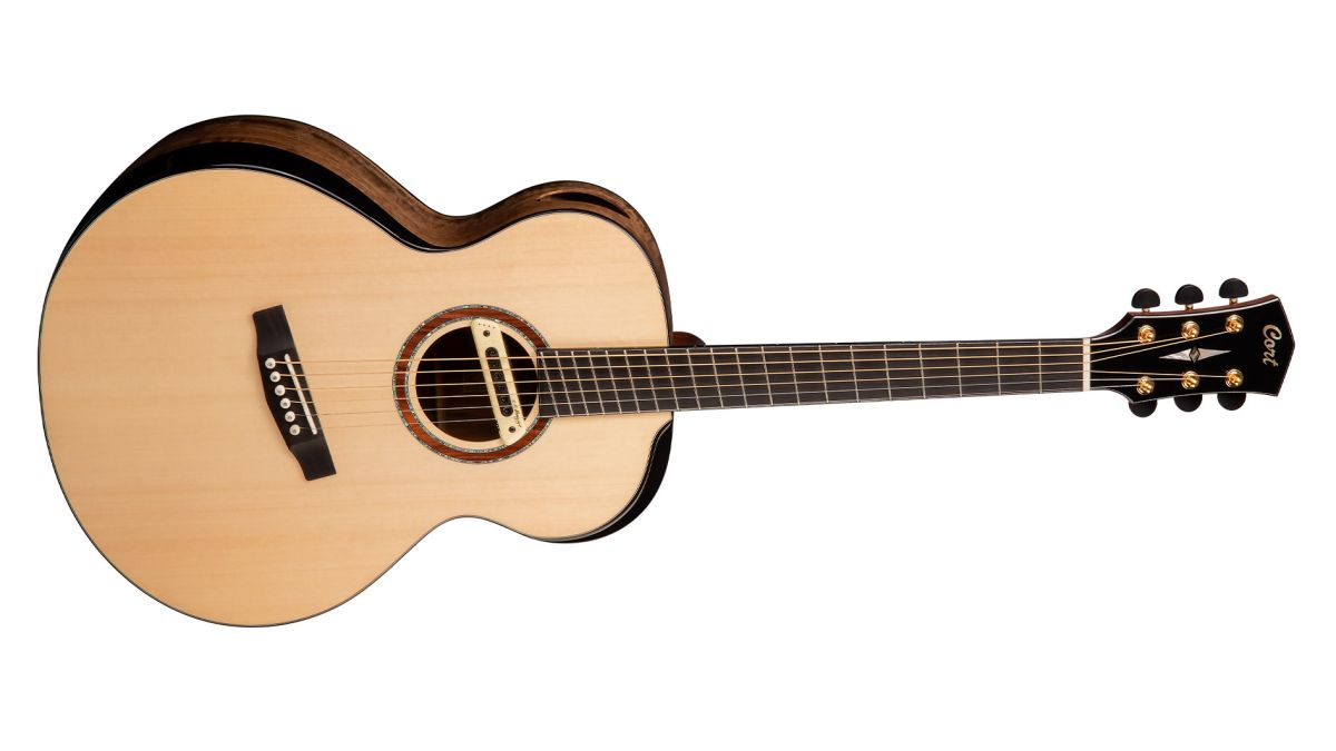 Take a look at Cort's new multi-scale length acoustic-electric – the Cut Craft