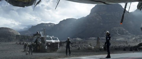 transport vehicles prometheus