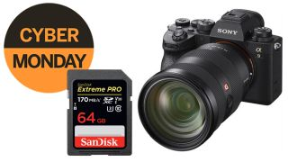Save £555 with this Sony A9 II and memory card Cyber Monday deal!