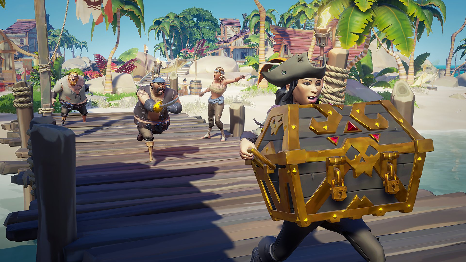 Sea of Thieves how to make gold quick guide: build that boat