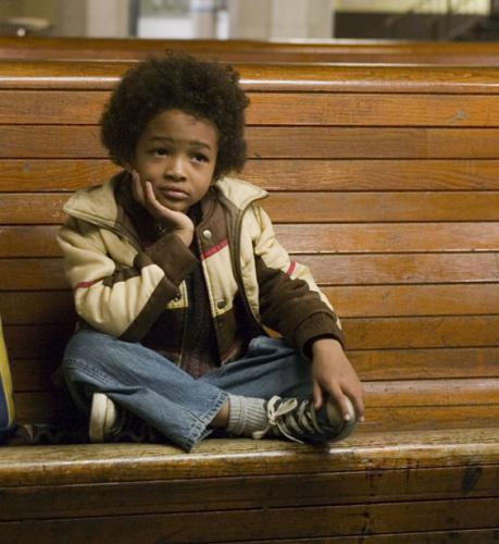 Jaden Smith in The Pursuit of Happyness