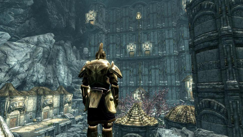 Мод Skyrim Special Edition - Забытый город