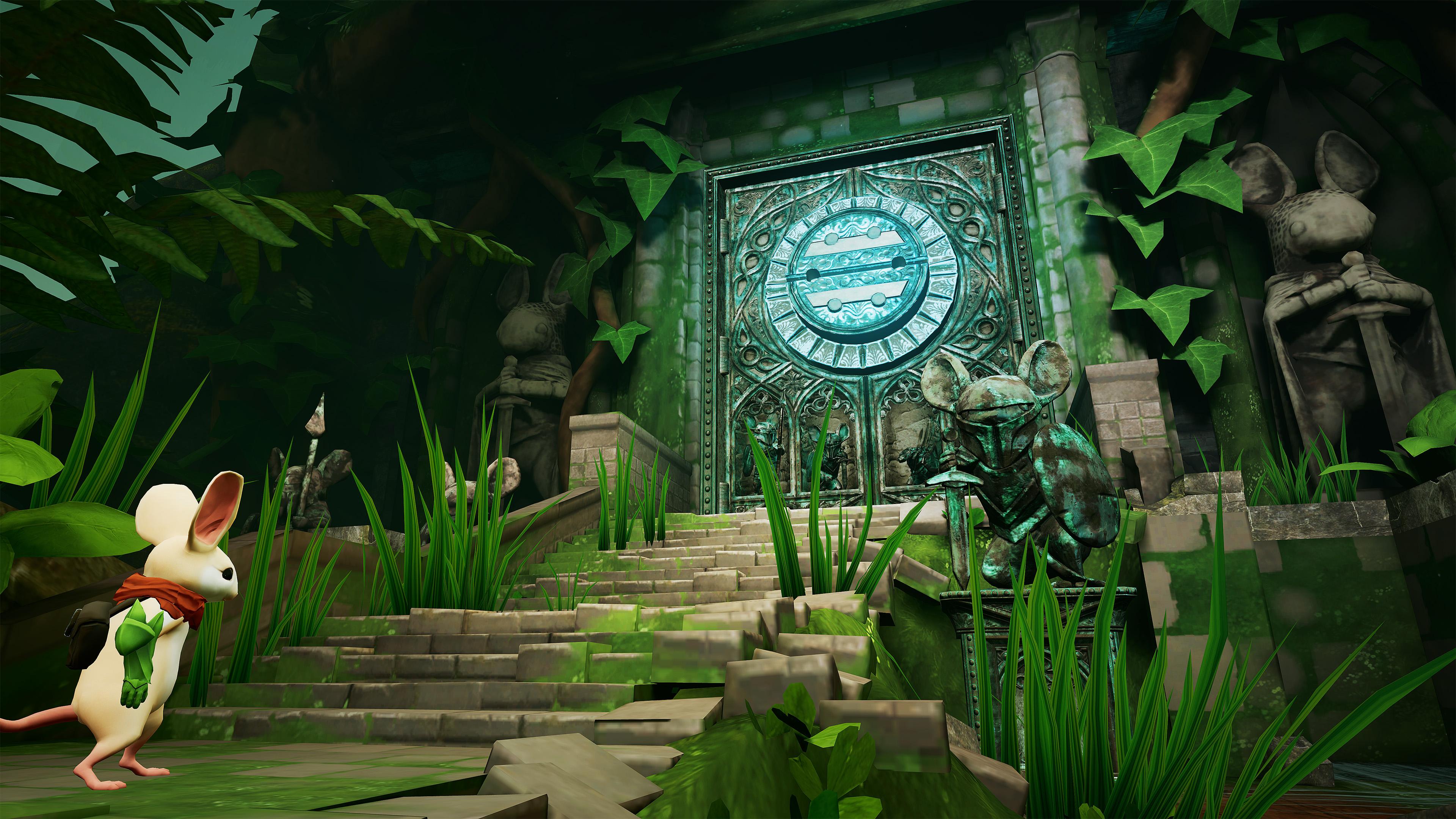 Moss on Oculus Quest 2