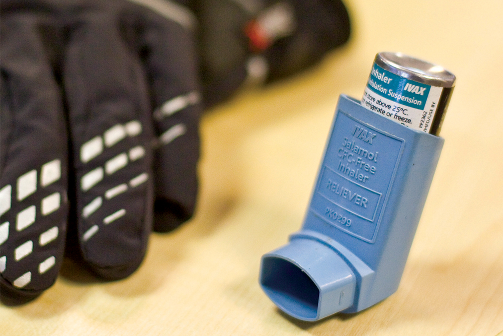 Asthma triggers on dates