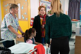 Coronation Street spoilers: Fiz Brown rushes to see Hope in A&E!