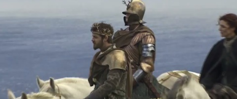 Game of thrones season 2 featurette takes a look at renly 39 s armor - Game of thrones 21 9 ...