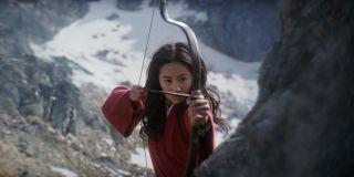 Liu Yufei as Mulan
