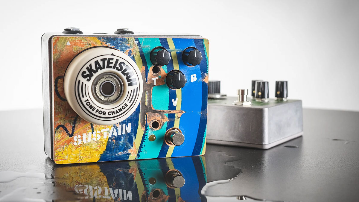KHDK's David Karon launches Tone For Change charity pedal initiative with Skateistan fuzz | MusicRadar