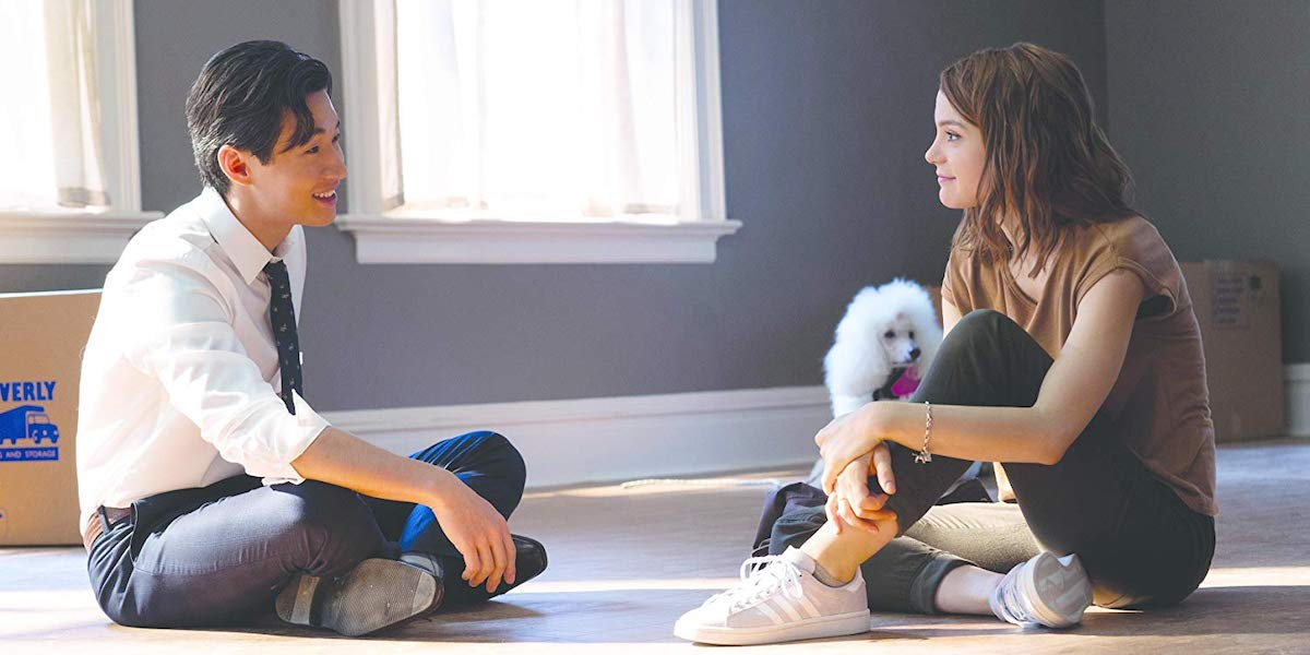 Henry Lau and Kathryn Prescott in A Dog's Journey