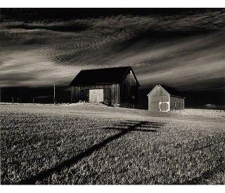 Minor White; Vicinity of Dansville, New York, 1955; print
