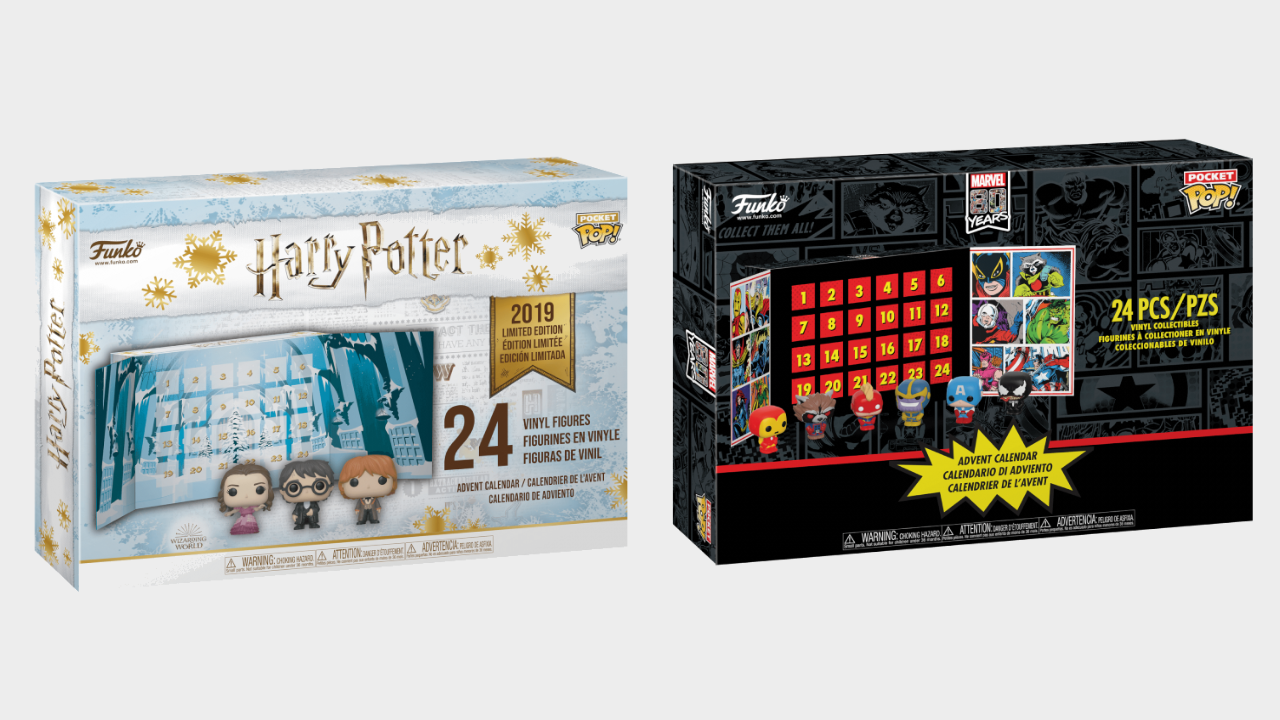 Harry Potter Advent Calendar.Grab Funko Pop Marvel And Harry Potter Advent Calendars From Zavvi