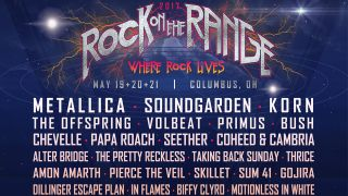 The Rock On The Range 2017 poster
