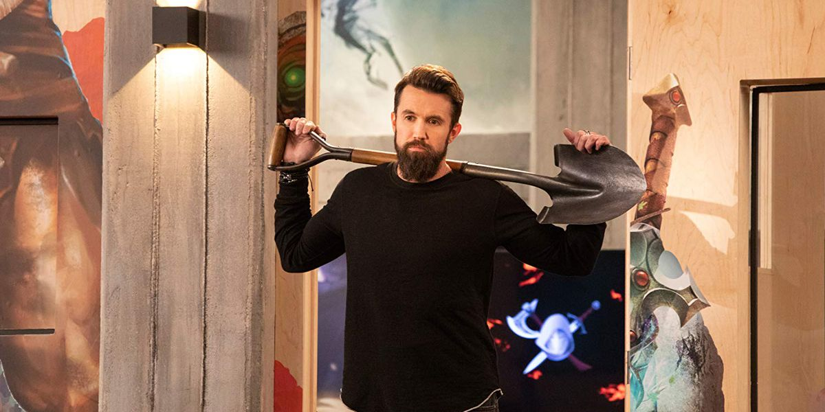 Rob McElhenney stars in Mythic Quest.
