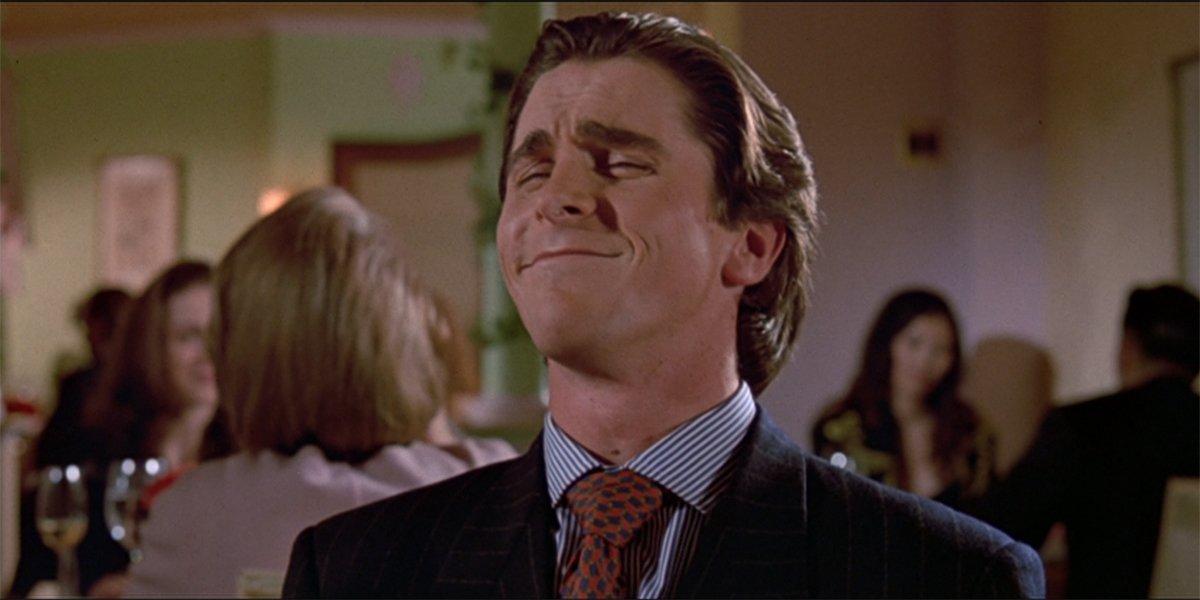 American Psycho Christian Bale as Patrick Bateman