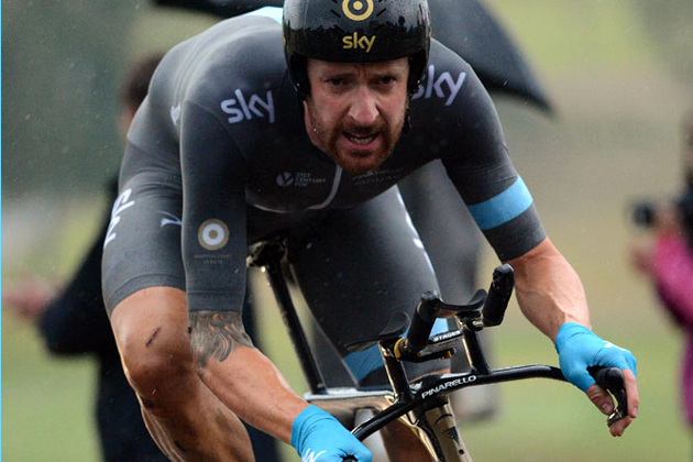 Bradley Wiggins, British time trial national championships 2014