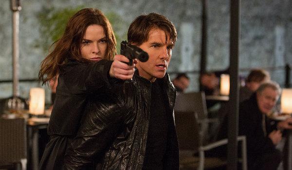 Mission Impossible Tom Cruise Rebecca Ferguson