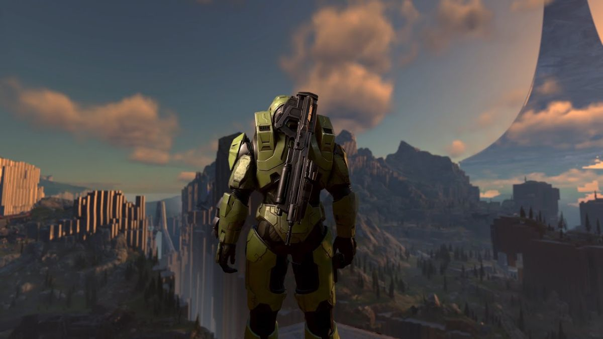 Halo Infinite's ringworld isn't open-world, but it is teeming with gophers - PC Gamer