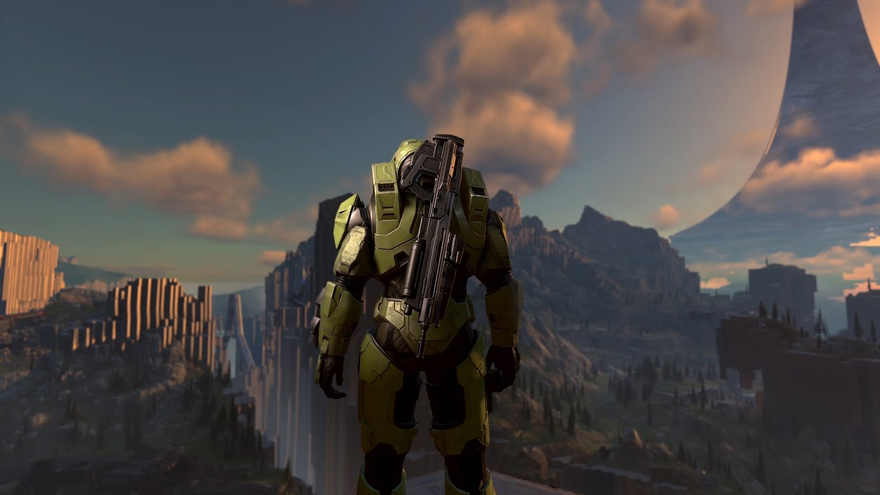 Halo Infinite's ringworld isn't open-world, but it is teeming with gophers