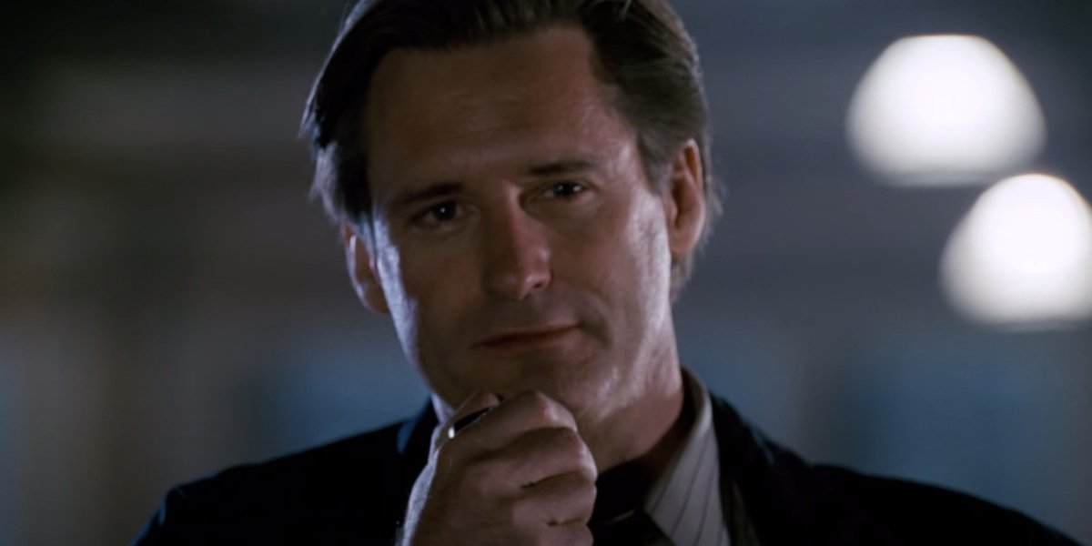 Bill Pullman as President Thomas J. Whitmore in Independence Day