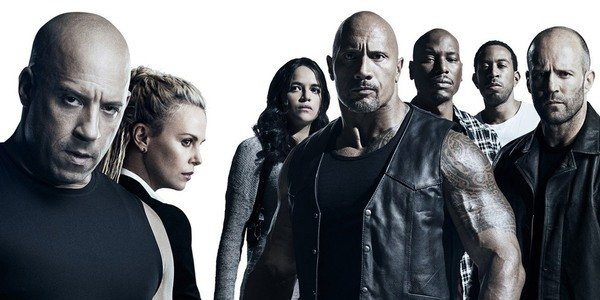 The Fate of the Furious cast