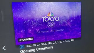 Tokyo Olympics on YouTube TV