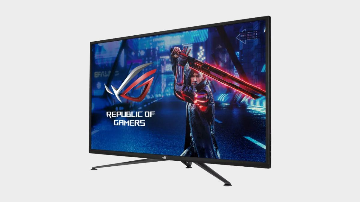 One of Asus' new 4K 144Hz gaming monitors might even be affordable