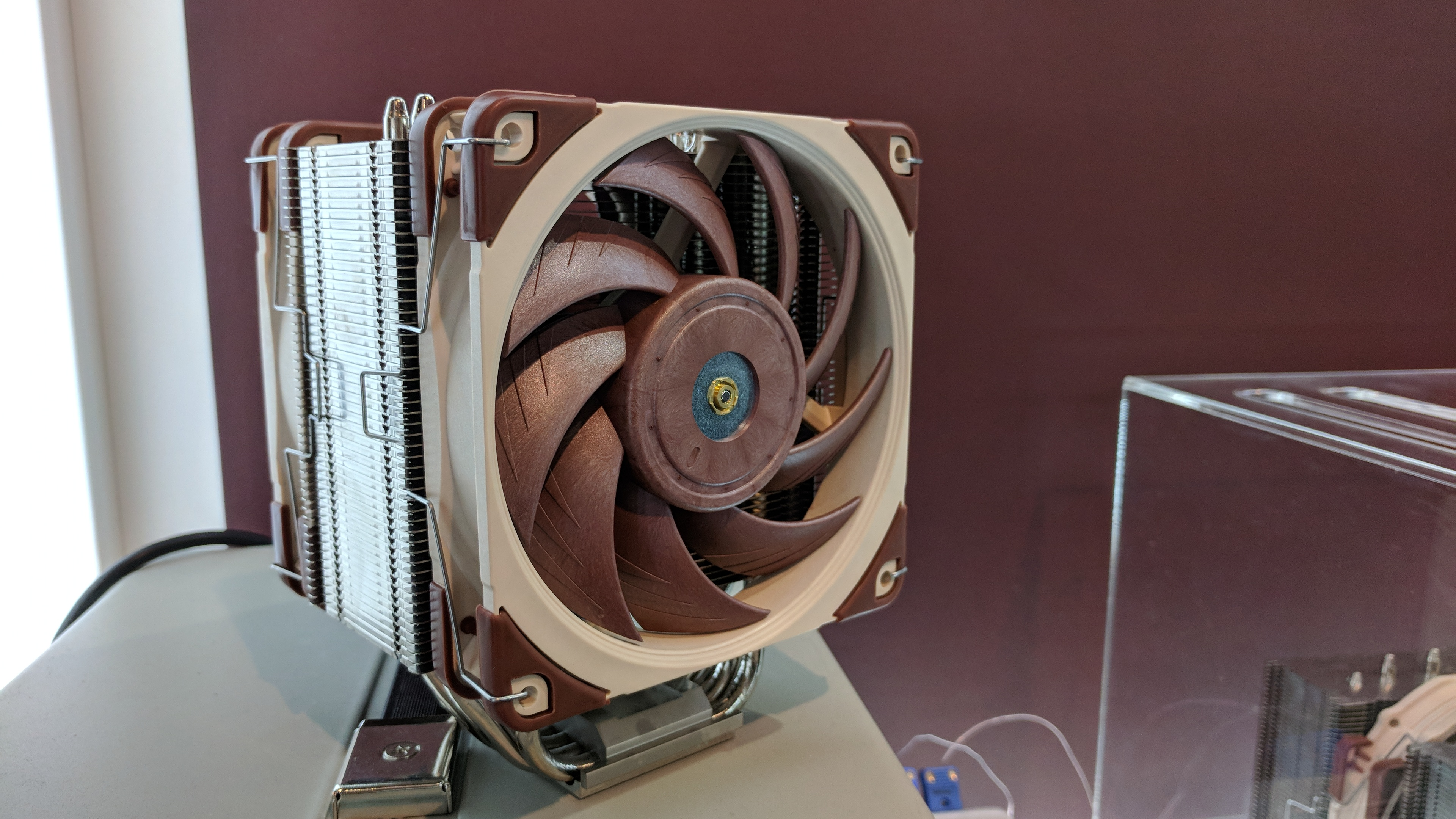 Noctua was the only hardware company at Computex totally