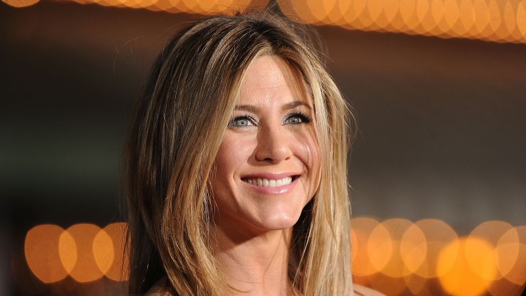 Actress Jennifer Aniston arrives at the premiere of Universal Pictures' 'Wanderlust' held at Mann Village Theatre on February 16, 2012 in Westwood, California
