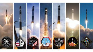 "Rocket Lab launched an Electron rocket on the ""Look Ma, No Hands"" mission to orbit four cubesats into orbit from Mahia Peninsula, New Zealand on Aug. 19, 2019. The company is developing a reusable rocket system, building a U.S.-based launch pad in Virginia and developing Photon, a unique, end-to-end satellite service."